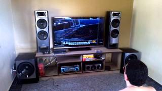 Call of Duty on Sony HT-M77 and Philips 55PFL7007