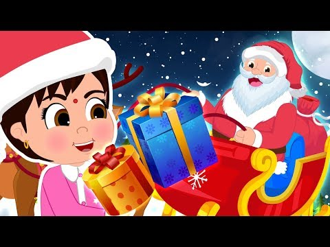Hindi Christmas Songs for Kids | मेरी क्रिसमस | Jingle Bells Hindi Version