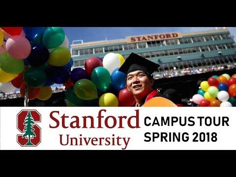 Stanford University Campus Tour | Spring 2018 | Nitinkumar Gove