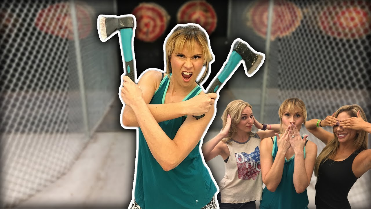 Things To Do in Vegas: Axe Throwing & Rage Room