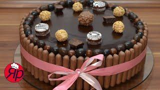 простой и быстрый в приготовления шоколадный торт special chocolate cake