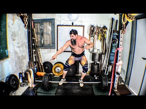 Strongman Axle Clean Pulls! Make Them Work!