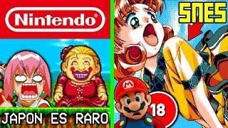 7 Videojuegos Japoneses de Nintendo mas Extraños que NO Conocías