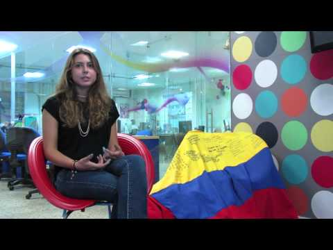 An Internship in Colombia - Media Testimonial. Alessandra's Experience