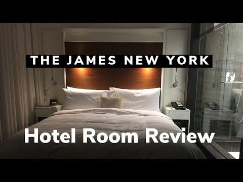 My Room at The James Hotel in New York City | NYC HOTELS
