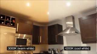 видео Светодиодные светильники для дома потолочные: виды, преимущества и особенности