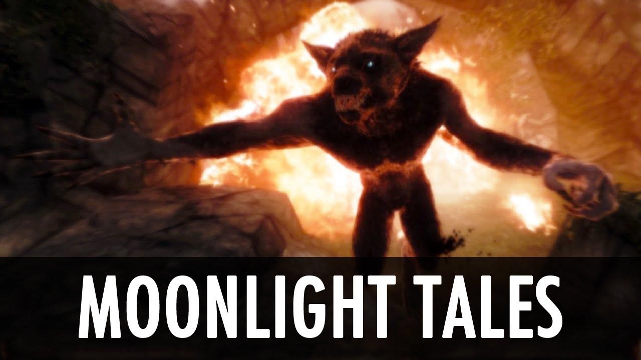Skyrim Mod: Moonlight Tales - Werewolf & Werebear Overhaul - YouTube