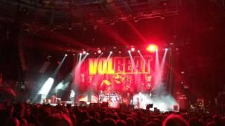 Volbeat - The Bliss - Nottingham Motorpoint Arena 2016