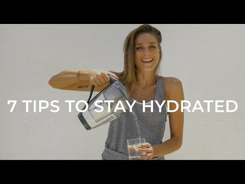 7 TIPS TO STAY HYDRATED IN THE SUMMER TIME HEAT