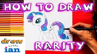 How to Draw Rarity Equestria Girls