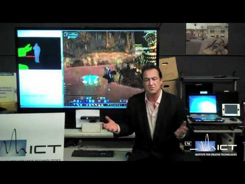 World of Warcraft with Microsoft Kinect using FAAST and OpenNI