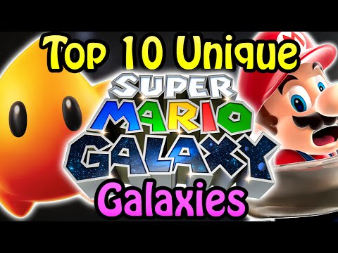 Top 10 Unique Super Mario Galaxy Galaxies