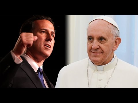 Rick Santorum Disagrees With The Pope On Climate Change