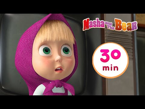 Masha and the Bear 💃 DANCE FEVER 🕺 30 min ⏰ Сartoon collection 🎬