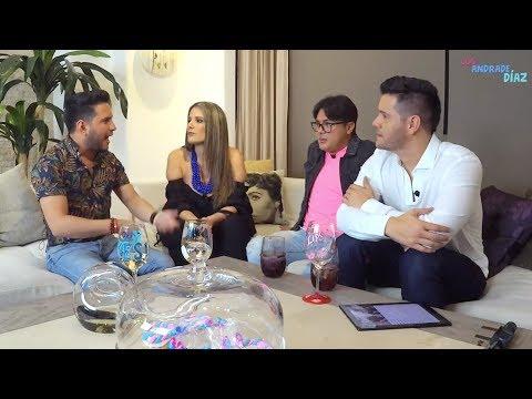 Los Andrade Díaz con Mauricio Altamirano y Will Mendoza