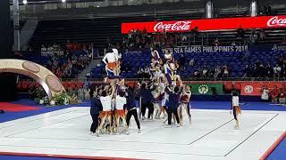 NU PEP SQUAD | 2019 SEA GAMES GYMNASTICS Closing Ceremony