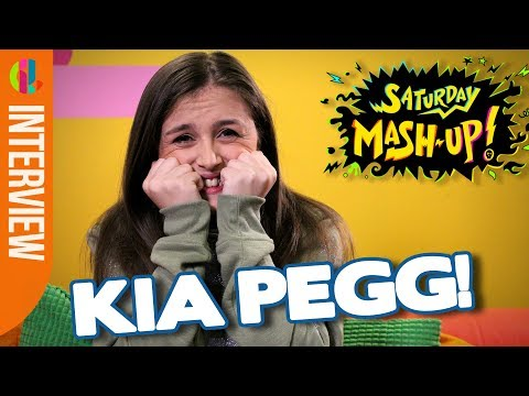The Dumping Ground's Kia Pegg  Cringey Questions!