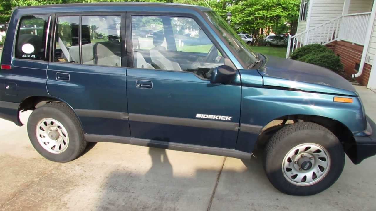 My 1995 Suzuki Sidekick Jx - Pure Driving Pleasure