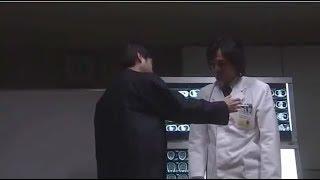 白い巨塔、第一外科教授財前五郎の病状が発覚する.