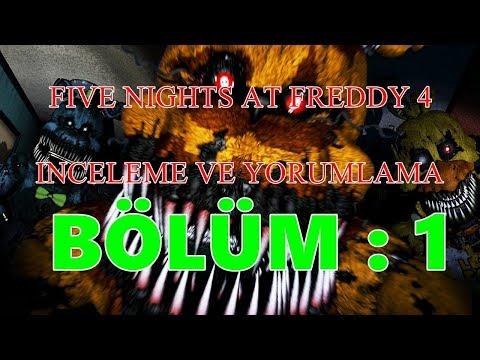 Türkçe - Five Nights at Freddy's 4 - İnceleme ve Teoriler - BÖLÜM 1 #RubinQuik thumbnail