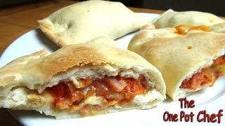 Pizza Hot Pockets / Calzones | One Pot Chef
