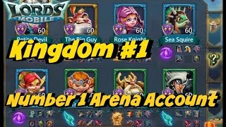 Lords Mobile: Top Arena Heroes 67Million Might Shortydoowop and Final Elite Stage
