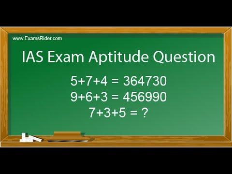 IAS Exam Aptitude Question www.examsrider.com