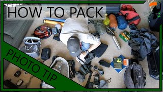 Video Blog - How To Pack For A Photo Trip In Under 2 Minutes