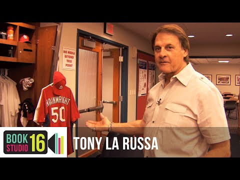 St. Louis Cardinals' Locker Room Tour With Tony LaRussa