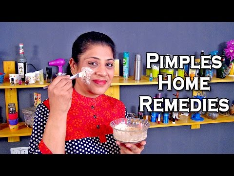How To Remove Pimples At Home Naturally In Hindi