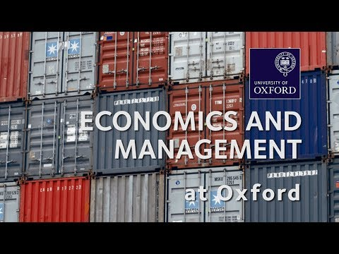 Economics and Management | University of Oxford