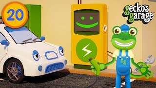 Gecko Fixes Cars at His Repair Garage | Educational Videos For Toddlers | Gecko's Garage
