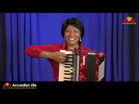 How to Play the Accordion: Lesson #1  Getting started with the Accordion