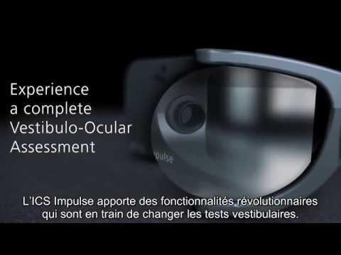 Experience a complete Vestibulo Ocular Assessment - ICS Impulse Video Head impulse test - français