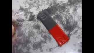 砂鉄と磁石を利用して、磁石の磁力線を見てみましょう! (小学3年理科...