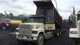 Auction Ford 9000 Triple Axle Dump