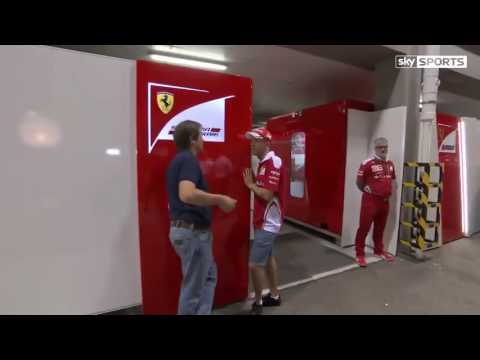 Vettel in the Ted's notebook - Singapore GP 2016