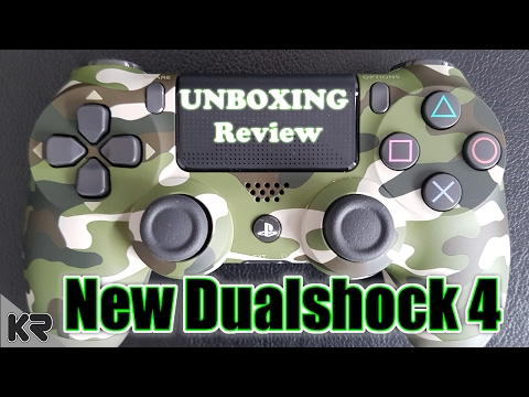 UNBOXING NEW OFFICIAL PS4 V2 DUALSHOCK 4 | Military Camouflage