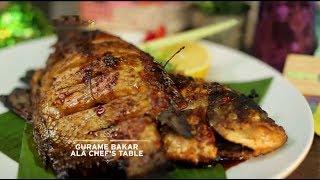 Chef's Table - Gurame Bakar Ala Chef's Table