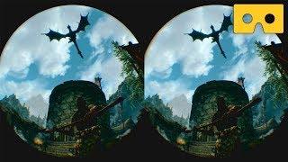 The Elder Scrolls V:  Skyrim VR [PS VR] - VR SBS 3D Video