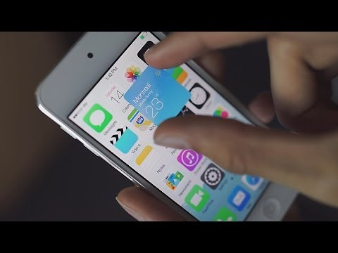 Check Out Live Tile-Style Icons in This iOS 8 Concept Video