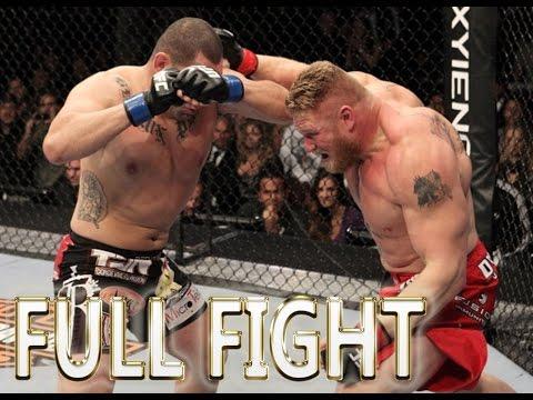 Cain Velasquez vs Brock Lesnar FULL FIGHT - UFC Fight Night Events