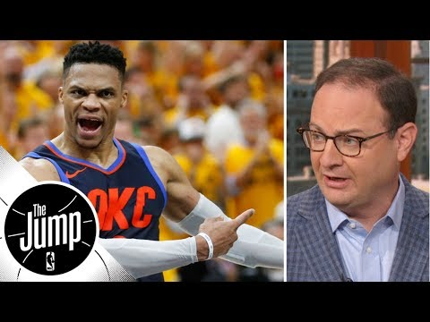 Woj: Thunder not looking to rush Russell Westbrook back from surgery | The Jump