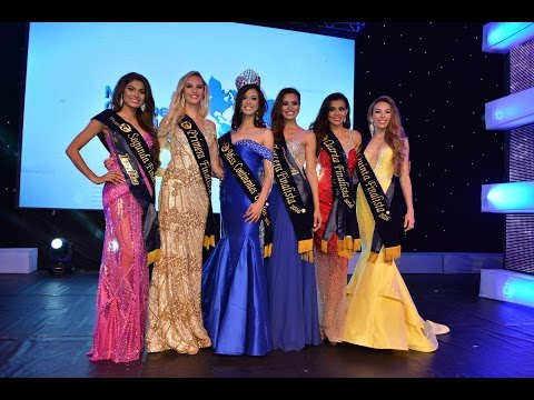 Lopamudra Raut 2nd Runner Up Miss United Continents 2016 - Crowning Moment