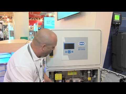 Hach Biotector B7000 at WEFTEC2014