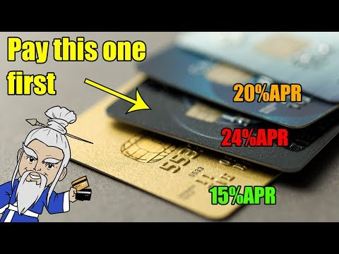 How To Pay Off Credit Card Debt THE RIGHT WAY