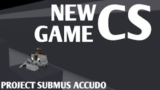 New Critical Strike Based Game | ROBLOX Project Submus Accudo