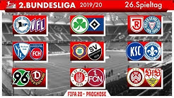 FIFA 20: Spieltag 26 l Saison 2019/20 2. Bundesliga Prognose l Deutsch [FULL HD]