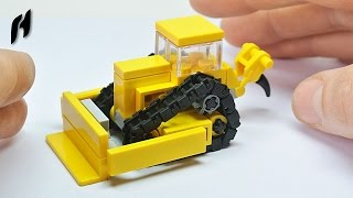 How to Build Small Lego Bulldozer (MOC)