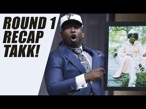 Takkarist McKinley Drops F Bomb at NFL DRAFT